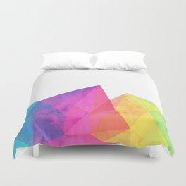 Fractal Rainbow Duvet Cover