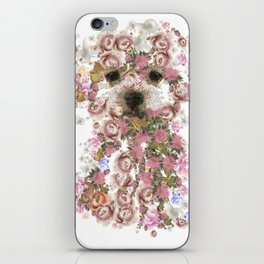 Vintage doggy Bichon frise.DISCOVER iPhone Skin