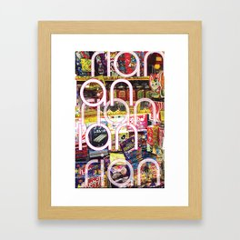 Merchandized!! Framed Art Print