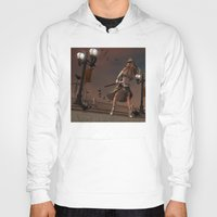steam punk Hoodies featuring Steam Punk - The Crows by J. Ekstrom