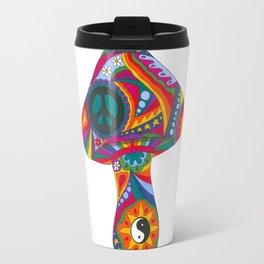 Psychedelic Mushroom Travel Mug