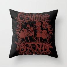 Genuine Band Throw Pillow