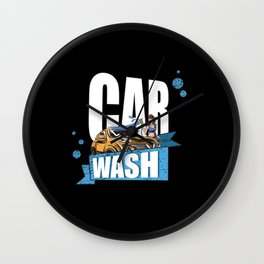 Let Your Car Shine Wall Clock