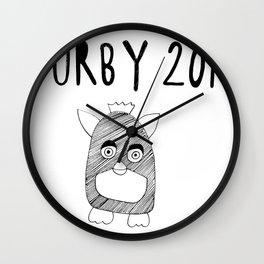 Furby 2012 Wall Clock