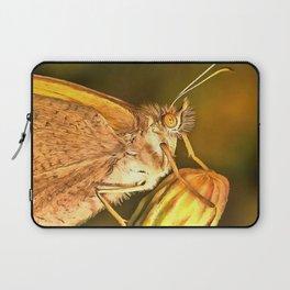 Meadow Brown Beautiful Butterfly Portrait Laptop Sleeve
