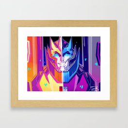 new paint, same problems Framed Art Print
