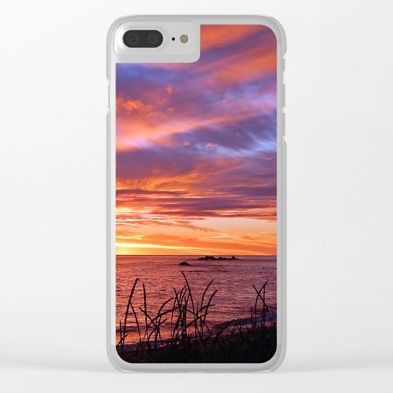 First Light at Sea Clear iPhone Case