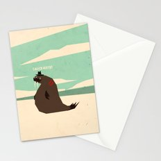W is for walrus Stationery Cards