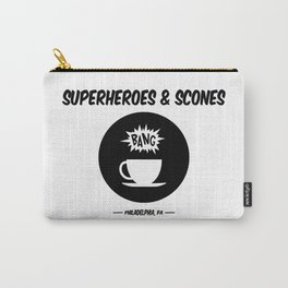 Superheroes and Scones Carry-All Pouch