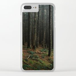 Gorge Woods Clear iPhone Case