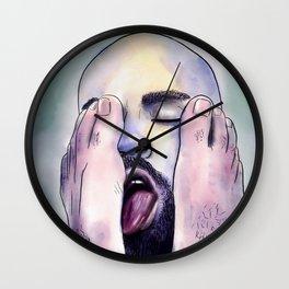 His Fetish Wall Clock