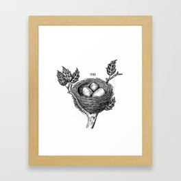 Nest Framed Art Print
