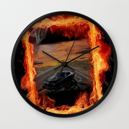 Firebird Wall Clock