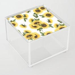 Lovely Sunflower Acrylic Box