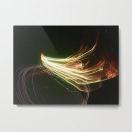 Slow Motion Firework 2 Metal Print