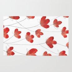 Poppy Flowers 2 Rug