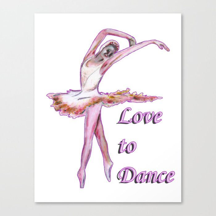 Love to Dance  Canvas Print