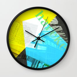 Story of the Roads - 2 Wall Clock