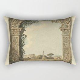 Ruins Of Rome Rectangular Pillow