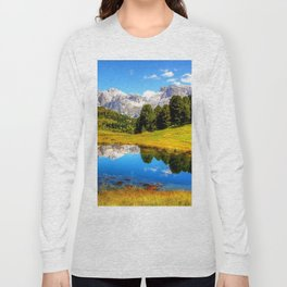 mountain_landscape Long Sleeve T-shirt