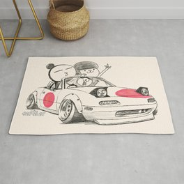 Crazy Car Art 0167 Rug