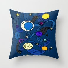The Celestial Environment Throw Pillow