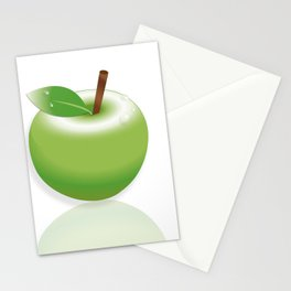 That's How the Apple Crumbles Stationery Cards