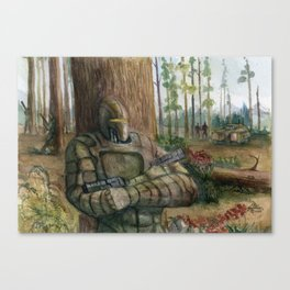 Ambush Canvas Print