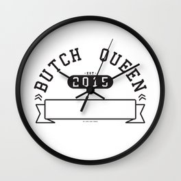 Butch Queen Athletics Wall Clock