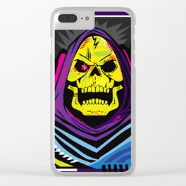 xSKELETORx Clear iPhone Case
