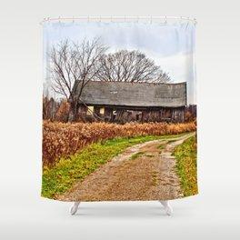 Wisconsin Old Barn 2 Shower Curtain