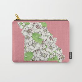 Missouri in Flowers Carry-All Pouch
