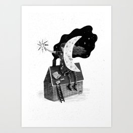 Poet Art Print