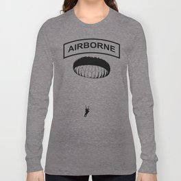 Airborne Jump Paratrooper Long Sleeve T-shirt