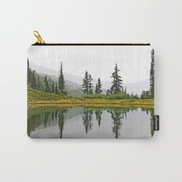 REFLECTIONS ON A PLACID MOUNTAIN LAKE Carry-All Pouch
