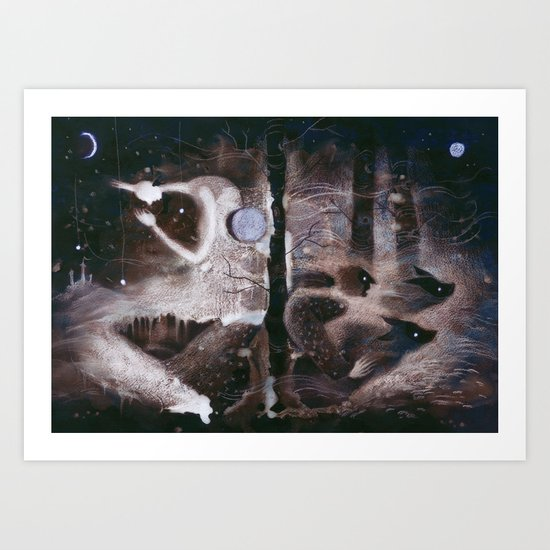 Moon Magic Art Print
