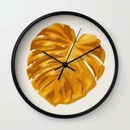 Monstera, Santa, SOMMAR Limited Edition #1 Wall Clock