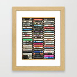 Tapes n Tapes Framed Art Print