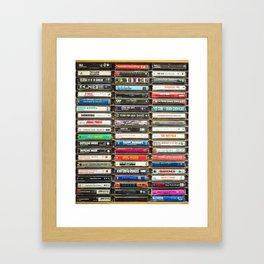 Tapes n Tapes Framed Art Print