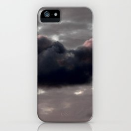 Cloudy Sky iPhone Case