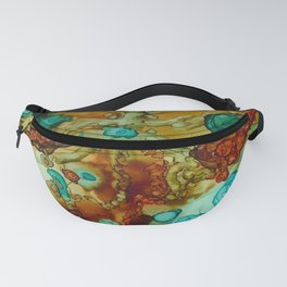 flora beginnings Abstract Fanny Pack