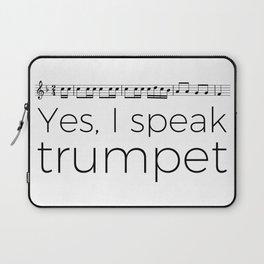 Do you speak trumpet? Laptop Sleeve