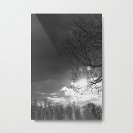 Someone's Sun Has Set Metal Print