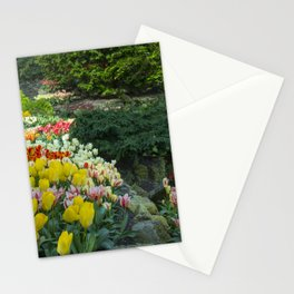 Technicolor Tulips Stationery Cards