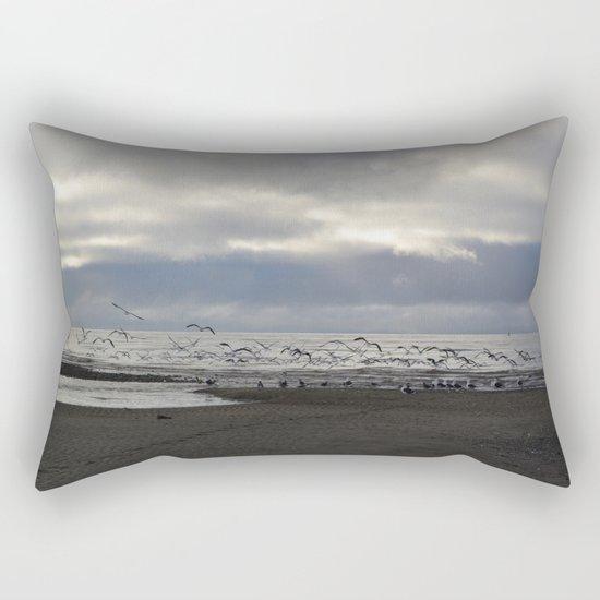 The Seagulls Rectangular Pillow