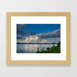 Belle Isle Bridge Framed Art Print