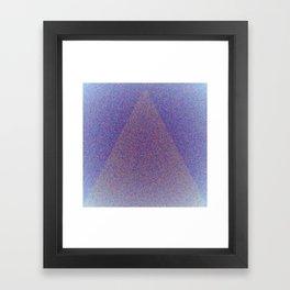 A Blue Point Framed Art Print