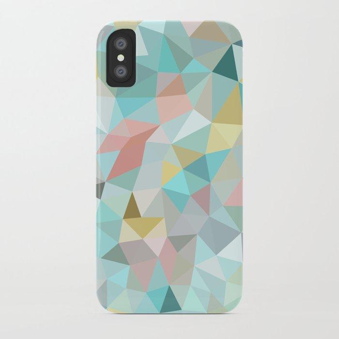 Pastel Tris iPhone Case