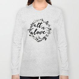 alt er love floreal Long Sleeve T-shirt