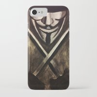 vendetta iPhone & iPod Cases featuring VENDETTA by The Traveling Catburys